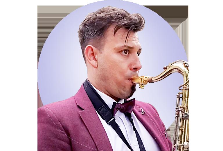 Saksofonista Marek