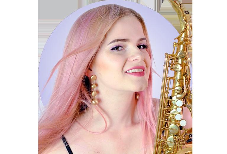 Saksofonistka Nastazja